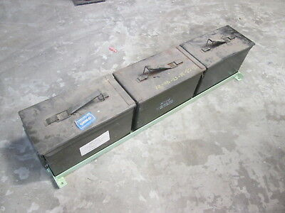 Niw 3-ammo Can Holder Floor Mt Armored Vehicle Neat For Military Vehicle Apc