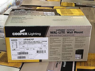 Sodium 120v Wall Mount (HPWM70P COOPER LIGHTING LUMARK WALL MOUNT HPS SECURITY LIGHT WAL-LITE 70 W 120V )