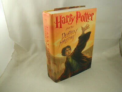 J K Rowling Harry Potter and the Deathly Hallows #7 1st Ed 1st US Printing