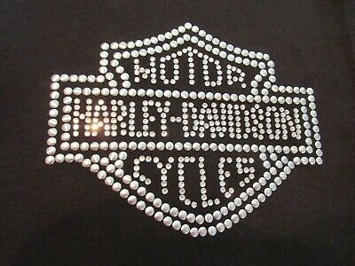Harley Davidson Black Bling Pants L