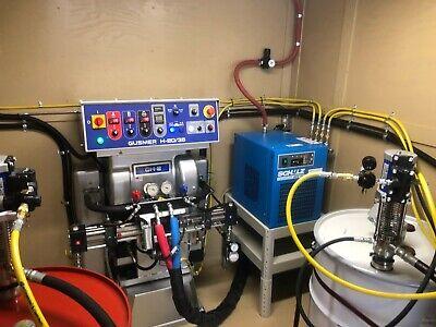 Hydraulic Spray Foam Trailer Graco Gh2 2035 Spray Foam Rig Spray Foam