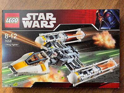 Lego Star Wars Y-Wing Fighter 7658 BNIB Retired Set