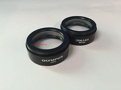 1pc Used Olympus Microscope 110al0.62x Auxiliary Lens For Sz51sz61sz30sz40sz60