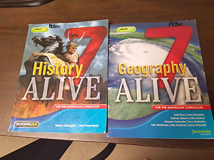Year 7 Text Books history and   geography Mooroolbark Yarra Ranges Preview