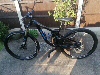 Trek Remedy 8 Mountain Bike Mens Medium Frame Black Full Suspension