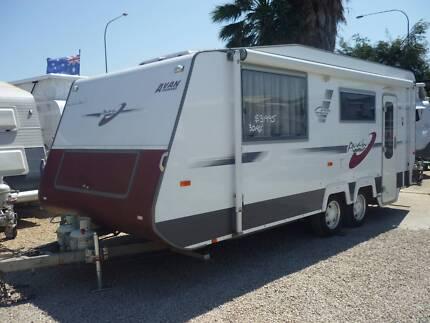 AVAN ' The Euro Star 1 ' Dual Axle CXaravan Port Wakefield Wakefield Area Preview