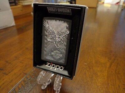Iron Eagle Zippo Lighter (HARLEY DAVIDSON IRON EAGLE ZIPPO LIGHTER MINT IN BOX)
