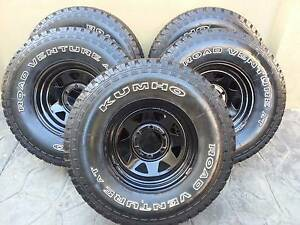 """5 x 31"""" Kumho Venture A/T Tyres and Rims Jandakot Cockburn Area Preview"""