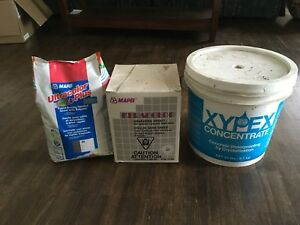 Grout and concrete waterproofing