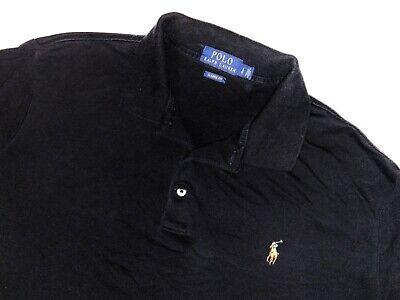 Polo Ralph Lauren short sleeve large shirt golf polo rugby black mens