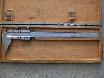 Euc Vintage Helek 12 Stainless Steel Vernier Calipers Made In Germany