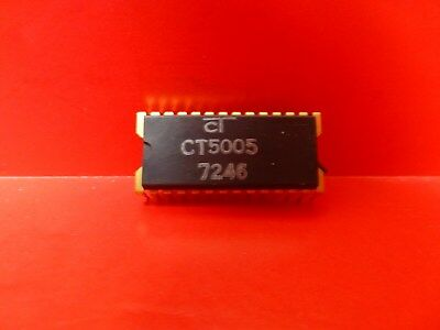 Caltex Ct5005 Vintage Nos Collector Calculator Ic Chip For Nixie Display
