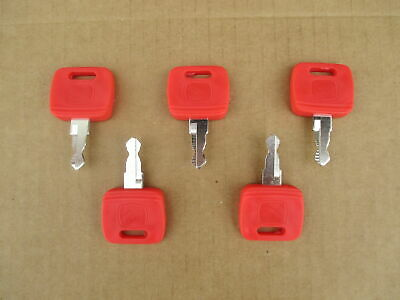5 Ignition Keys For John Deere Jd 4310 4320 4410 4510 4520 4610 4710 4720 5045d
