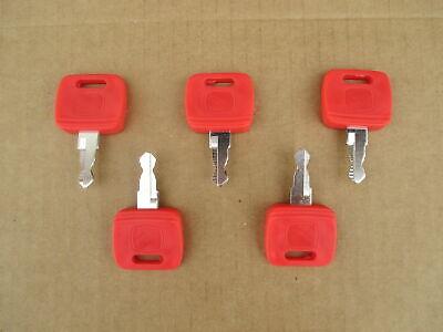 5 Ignition Keys For John Deere Jd 4310 4320 4410 4510 4520 4610 4710 4720 5045d