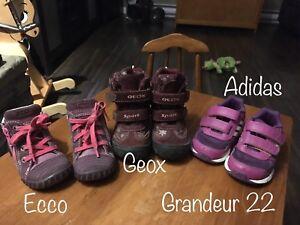 Chaussures grandeur 22 - enfants
