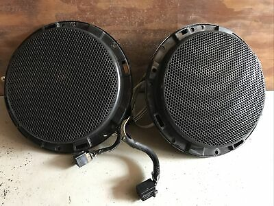 Two Ford AR3T-18808-ADW M5XUC Speakers 1.2 OHM x 2 60W x 2 2010 Mustang OEM