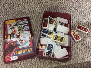 Collectable limited edition Iron Man 2 DOMINOS
