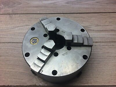 Nice Buck Set Tru 6 3 Jaw Chuck W Plain Back Mount