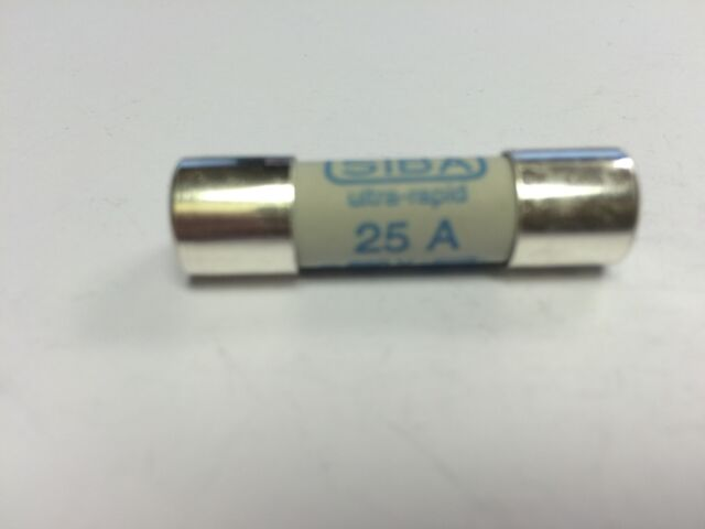 SIBA 50 179 06 25A Fuse 690V UltraRapid JPSF348 5017906.25  50-179-06 10x38mm gR