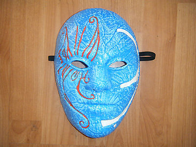 HOLLYWOOD UNDEAD 3 TEARS JOHNNY BLUE HALLOWEEN FANCY DRESS UP MASK ADULT COSPLAY - Hollywood Undead Mask