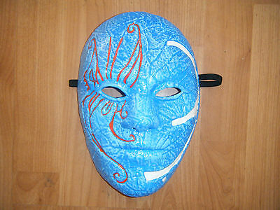 Hollywood Undead 3 Tränen Johnny Blau Halloween Kostüm Maske Erwachsene - Hollywood Masken Kostüm