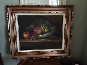 Oil Painting - nice frame !! Moving sale 25$