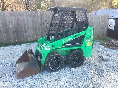 2014 Bobcat S70 Wheel Loader Skid Steer 972 Hours Solid Rubber Tires