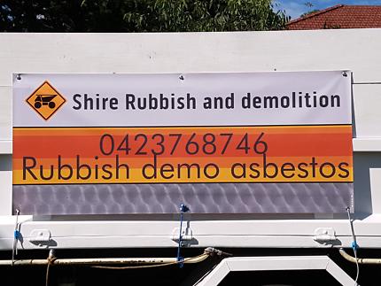 Shire Rubbish and demolition