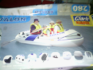 Inflatable Rubber Raft Meringandan West Toowoomba Surrounds Preview