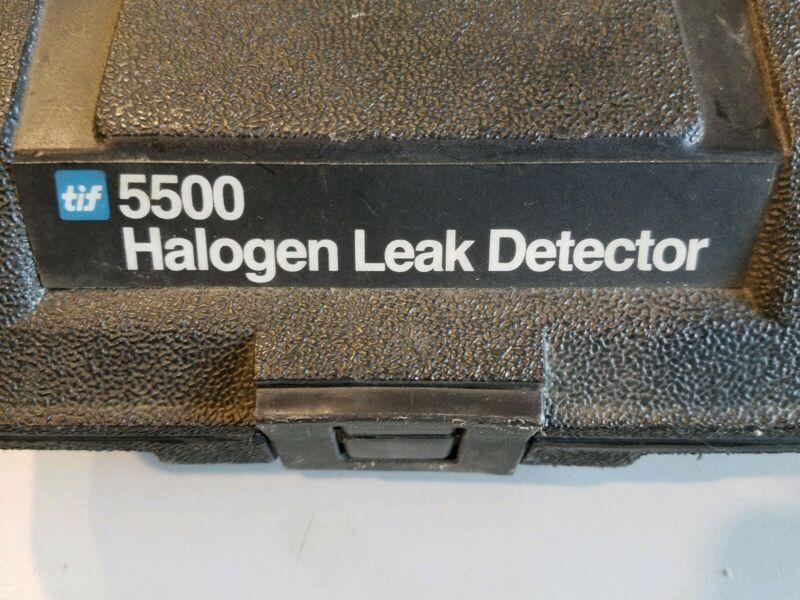 TIF 5500A Halogen Leak Detector