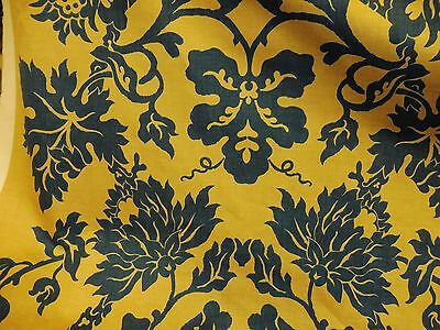 LENNOX MONEY ANTIQUES FABRIC - NANKING PEONY.   PRICE PER METRE