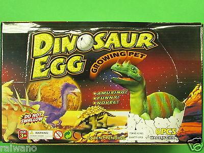 er Dinoei Jumbo Ei Schlüpf Dino Magic Egg wächst im Wasser  (Karton Dinosaurier)