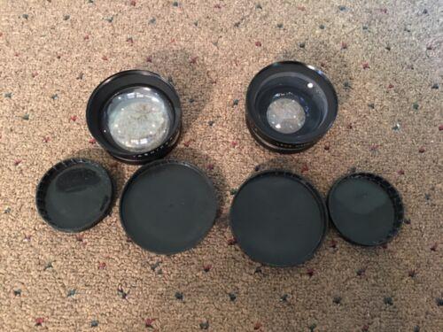 Yashica Yashikor Wide Angle & Telephoto 1:4 Lens  + Tele-Wide Finder