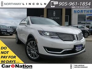 2016 Lincoln MKX NAV|LEATHER|PANO ROOF|REMOTE START|360 REAR CAM