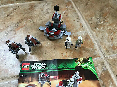 Lego Star Wars 75000 Clone Troopers Vs Droidekas - Complete Set All Minifigures