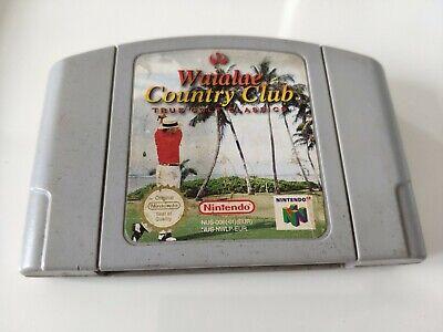 Waialae Country Club Golf N64 Game- Nintendo 64 PAL - Free P&P
