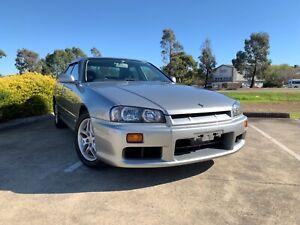 2000 Nissan Skyline R34 25GT Non Turbo Auto Sedan P-Plate Legal Thomastown Whittlesea Area Preview