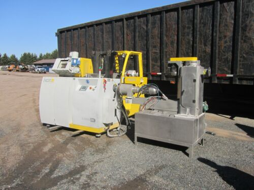 NGR Plastic Repelletizer  NGR E-GRAN50HD, Hot Die Waterring Pelletizer Recycler