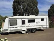Elite Hume Diamond Series 2 family bunk caravan with annex &solar Caroline Springs Melton Area Preview