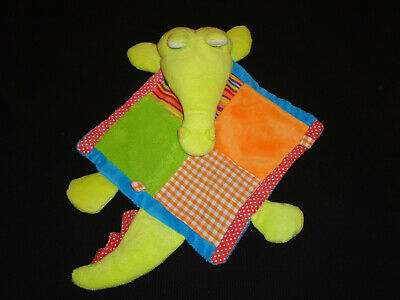 dm Frosch grün Schmusetuch Maximo 074 neuwertig