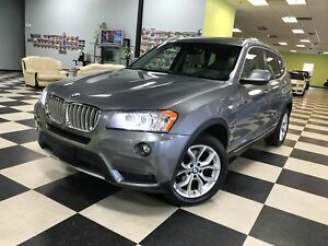 2013 BMW X3 xDrive28i FULLY LOADED#100% APPROVAL GURANTEED!!!