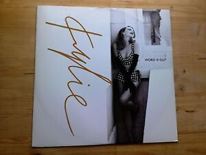 Kylie Minogue Word Is Out Excellent 12