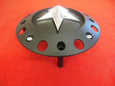 KMC Rockstar Custom  Wheel Center Cap Flat Black  1000775  2 1/4