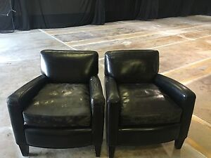 Free leather chairs