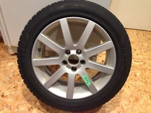Aluminum Volvo 17-inch Aquarius Mags and Summer Tires