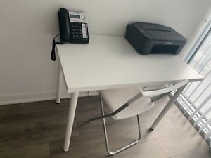 Fully operating office : Desk + Chair + Printer + 2 lines phone