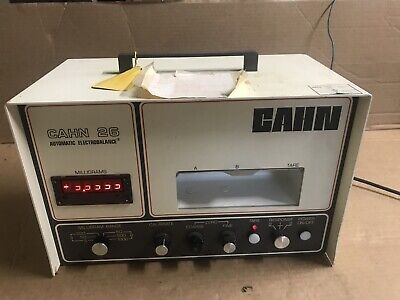 Cahn 26 Microbalance Analytical Scale For Parts Or Repair