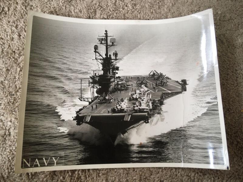 Official US Navy Photo USS Intrepid CVA-11 1961 8x10