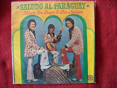 Alberto De Luque & Los Amigos - Saludo al Paraguay   German LP   OVP    NEU