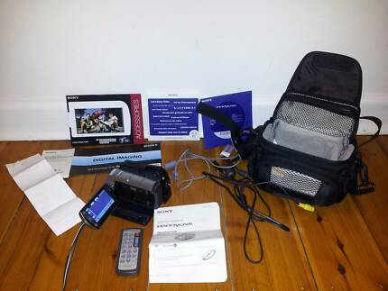 SONY handycam DCR SR85 60gb hard disk drive HDD camcorder Asquith Hornsby Area Preview